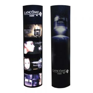 New Foldable Paper Custom Graphics Four-layer Light Box Cardboard Totem for Promotion Display Quick Installation