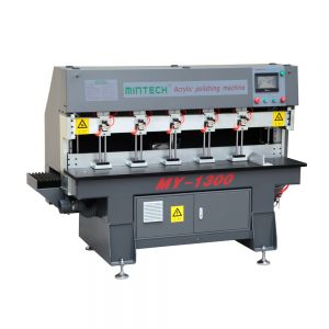 Diamond Acrylic Edge Polishing Machine, Touch Screen Control