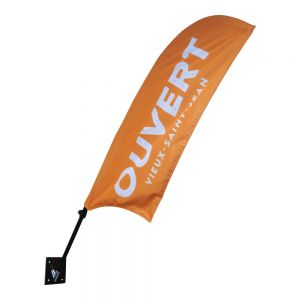 Wall Mounted Flags-Feather Flags(Only Stand)