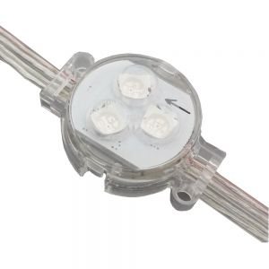 SMD 5050 Φ30 Single-Color Transparent Cover LED Point Light DC12V