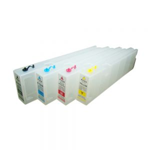 1000ml Generic Refilling Cartridge with One-time Chip for Epson SureColor S30670 - 4pcs/set(KCMY)