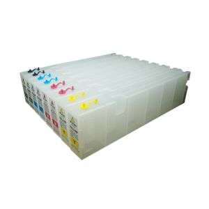 1000ml Generic Refilling Cartridge with One-time Chip for Epson SureColor S50670 - 8pcs/set(KKCCMMYY)