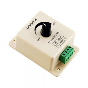 Led Dimmer 12V 8A No-level Manual Dimming Controller for Single Color Led Strip