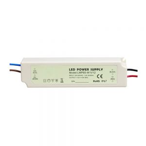 60W AC100V-240V to DC 12V Waterproof Rubber Shell  LED Power Supply Transformer Driver