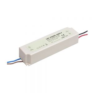 60W AC100V-240V to DC 24V Waterproof Rubber Shell  LED Power Supply Transformer Driver