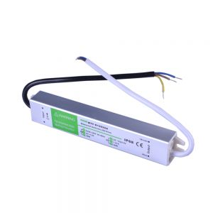 20W AC100V-240V to DC 12V 1.7A Waterproof Metal Shell LED Power Supply Transformer Driver(for LED Module/LED Strip/LED Bar)