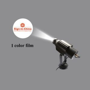 High Quality 30W Waterproof LED Static Gobo Outdoor Advertising Logo Projector Light (with Custom Glass Gobos)
