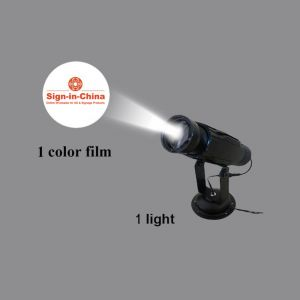 High Quality 30W LED Static Gobo Advertising Logo Projector Light(with Custom Glass Gobos)