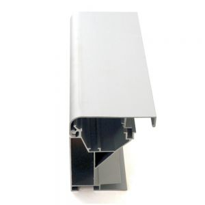 12Sets/Pack 7.5 cm Wide,90mm Thick,1.8m Length Waterproof  Flex Light Box  Profiles , Advertising Light Box Profiles