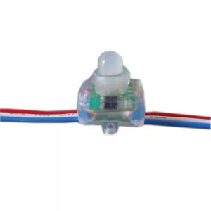 UCS1903 / WS2811 / SM16703 Square Full Color Waterproof  LED Pixel Diffused Light RWB Wires 5V  DC