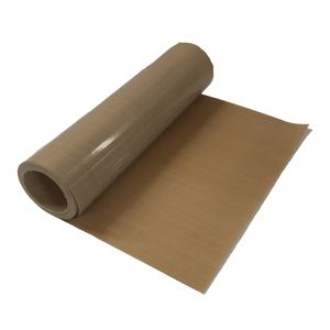 "Belgium Stock,39"" x 5 Yard PTFE Coated Fiberglass Fabric Sheet Roll 5Mil Thickness for Sublimation Printing"