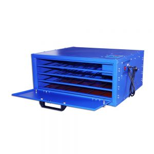 US Stock, 800W 4 Layers Screen Printing Drying Cabinet Max Exposure size 25 x 23in Screen Press Warming Machine