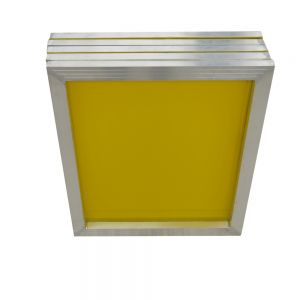 "US Stock, 6 pcs - Aluminum Silk Screen Frame - 305 Yellow Mesh 23"" x 31"" (Tubing: 1""x 1.5"")"