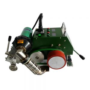 US Stock-AC110V Automatic Hot Air Welding Machine with 30mm Nozzle for PVC Flex Banner