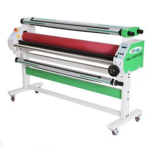 "US Stock, Ving 60"" Economical Full - auto Wide Format Cold Laminator, with Heat Assisted"