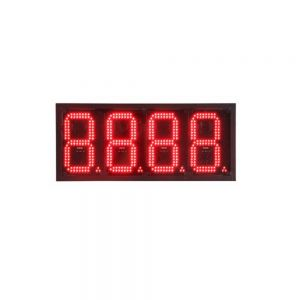 "6"" LED Gas Station Electronic Fuel Price Sign Motel Price Sign 8888"