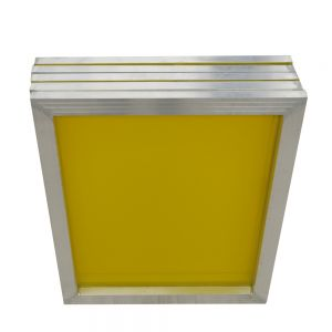 "6 pcs -18"" x 20""Aluminum Screen Printing Screens With 305 Yellow Mesh Count (Tubing: 1""x 1.5"")"
