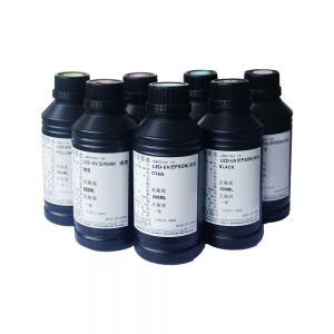 Special Flat Media LED UV Curable Ink (500ml/bottle)