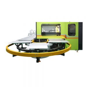 6 Color 30 Station Oval + Digital Printing Machine with Dryers