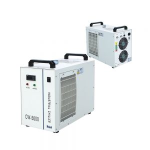 S&A CW-5000BI Industrial Water Chiller for a Single 5W-10W Solid-state Laser Cooling, 0.52HP AC 1P 220V, 60Hz