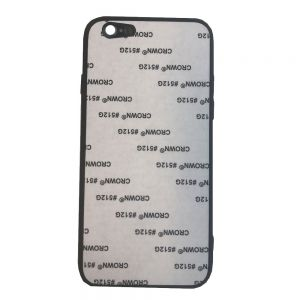 Tempered Glass Material iPhone 7 / 8 Blank Cell Phone Case Cover for UV Printing