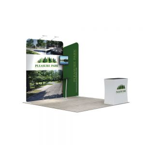10ft Modular Custom Fast Install Trade Show Display -A4C2