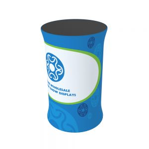 Circle Fabric Tension Counter with Custom Graphic