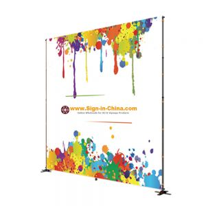 Quick Installation Aluminum Telescoping Display Banner - Frame Only