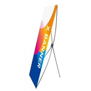 "US Stock 10pcs/pack 24"" x 62"" H Economic X Banner Stand (Local Pick-up)"