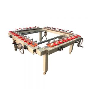 "US Stock, High Precise 47""x 59"" Pneumatic Screen Stretcher, Screen Printing Equipment"
