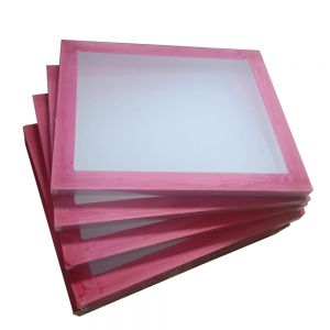 "6 Pcs - 20"" x 24""Aluminum Frame with 160 White Mesh Silk Screen Printing Screens (Tubing: 1.5""x 1.5"")"