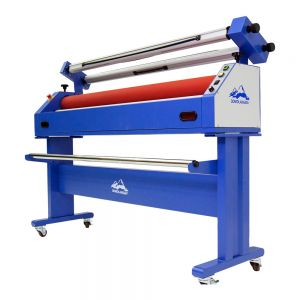 US Stock Qomolangma 63in Semi-auto Cold Laminating and Mounting Machine with laminating Film