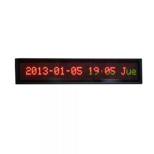 "25"" x 5"" Indoor 2 Lines LED Scrolling Sign (Tricolor or Single Color)"