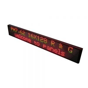 "40"" x 6"" Indoor 2 Lines LED Scrolling Sign (Tricolor or Single Color)"