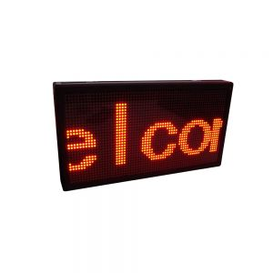 "21"" x 11"" Indoor 4 Lines LED Scrolling Sign (Tricolor or Single Color)"