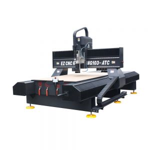 51in x 98in 1325 High-quality Dual Ball Screw CNC Router, with 9KW Spindle