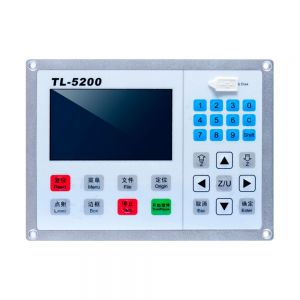 Double Head Synchronous TL-5200 Laser Motion Controller Use for Laser Cutter and Laser Engraving Machine