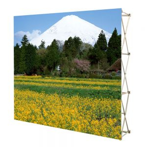 US Stock, 10ft Tension Fabric Pop Up Display Backdrop Stand Trade Show Exhibition Booth and Walls(Graphic Include/single Sided)
