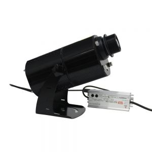 40W Outdoor Black  Desktop or Mountable LED Gobo Projector Advertising Logo Light(4 picture rotation)