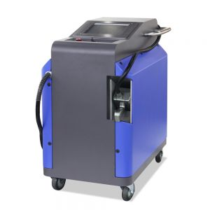 Handheld 100W Metal and Non-metal Surface Laser Cleaner Oil Cleaner Dust Cleaning Machine
