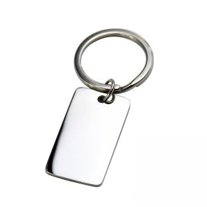 Christmas Gifts Stainless Steel Personalized Engraved Dog Tag Keychain to My Family / Love Gift