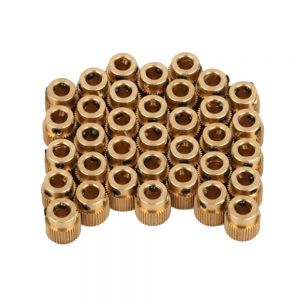 5Pcs CREALITY 3D Printer Parts 3D Printer Extrusion Wheel Special Brass Extrusion wheel 40 Tooth Gear for Extruder filaments