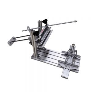 Calca Manual Cylinder Screen Printing Press for Pen / Cup / Mug / Bottle (with 10in Squeegee)