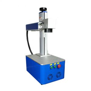 US Stock, Integrated Fiber Laser Marking Machine with Raycus Laser, FDA