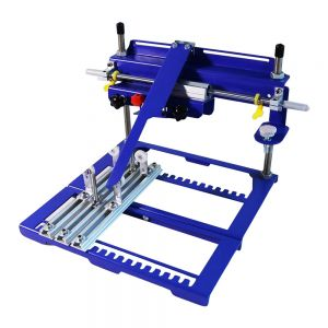 """7.9"""" x 5.9"""" Manual Cylinder Curved Screen Printing Press for Cup / Mug / Bottle (Diameter:6.7"""")"""