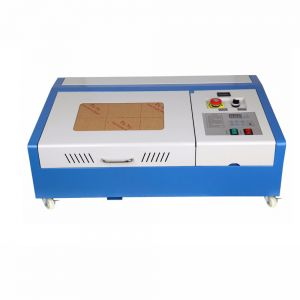 "12"" x 8"" 40W CO2 Laser Engraver and Cutter Worktable FDA"