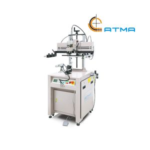 "220V 350W ATMA Pneumatic Mini Curve Screen Printer Screen Printing Press(Diameter:ϕ5.7""x7.9"" )"