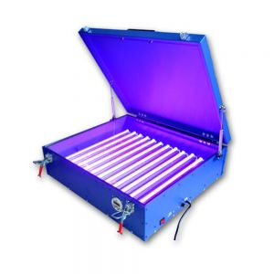 110V / 220V 240W Screen Printing 21x25in UV Exposure Unit Emulsion Coating Solidification Plate DIY