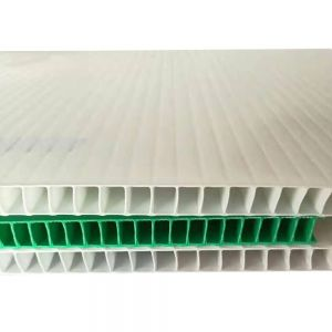 "24"" x 36"" White Corrugated Plastic Panels Coroplast Sheets Blank Yard Signs 0.236"" Thickness 50pcs/pack"