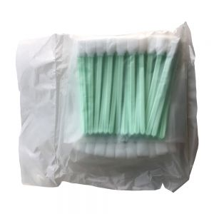 "US Stock-100 pcs Foam Cleaning Swabs for Epson / Roland / Mimaki / Mutoh Inkjet Printers 5"" Long"